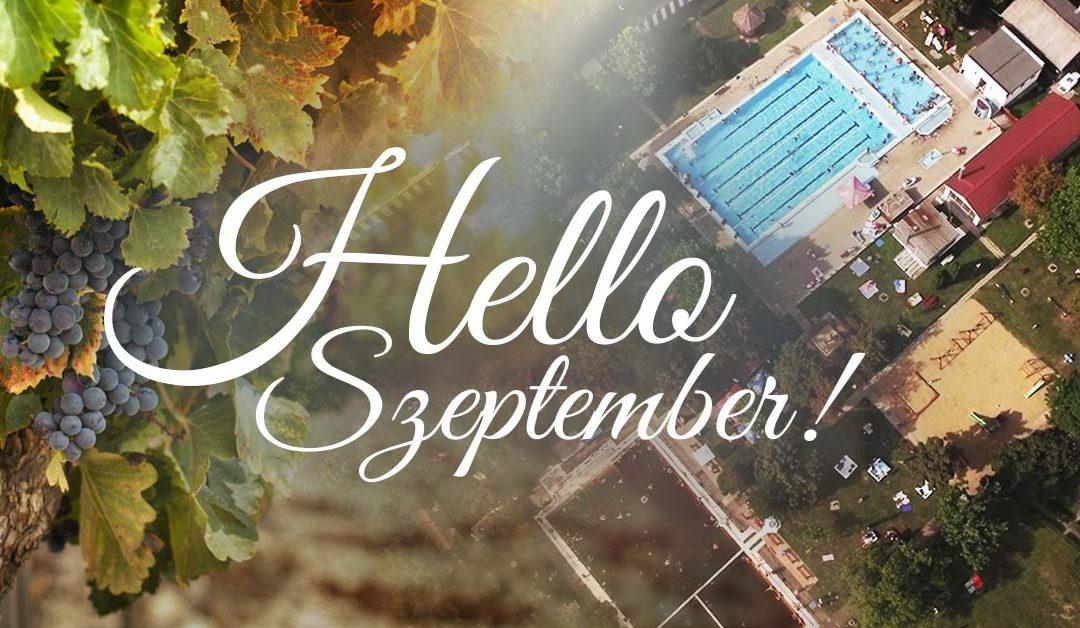 Hello Szeptember – Szeptemberi aktualitások